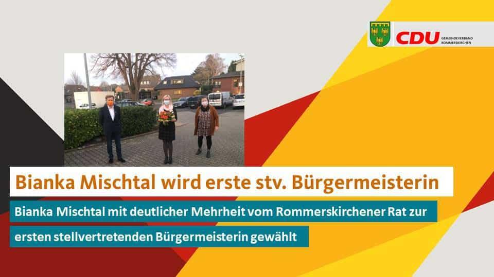 Bianka Mischtal wird erste stellvertretende Bürgermeisterin in Rommerskirchen