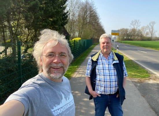 Holger Hambloch (li) und Norbert Küttelwesch (re)